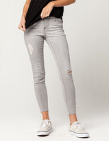 Celebrity Pink Raw Ankle Womens Jeans