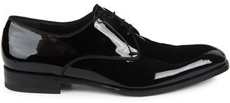 Salvatore Ferragamo Charles Patent Leather Oxfords