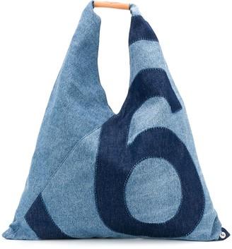 MM6 MAISON MARGIELA Japanese medium denim bag