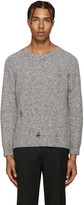 Marc Jacobs Grey Distressed Olympia Sweater