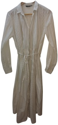 Pas De Calais Ecru Cotton Dress for Women