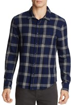 Joe's Jeans Plaid Flannel Slim Fit Button Down Shirt