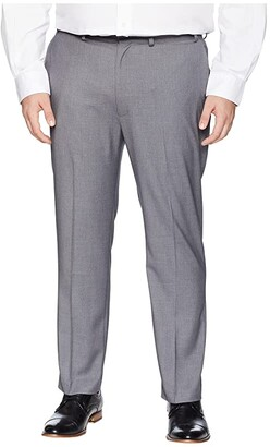 Dockers Big Tall Suit Separate Dress Pants (Mid Grey) Men's Dress Pants