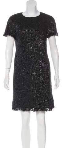 Chanel Iridescent Tweed Dress
