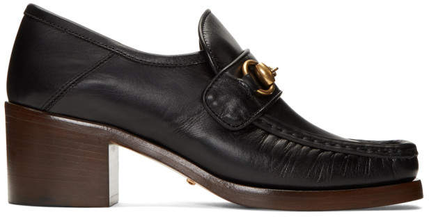 Gucci Black Vegas Loafers