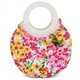Pate De Sable Floral Circle Handle Bag