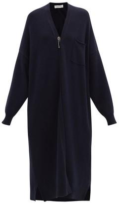 Extreme Cashmere No. 61 Koto Stretch-cashmere Cardigan - Navy