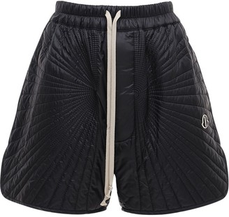 Moncler + Rick Owens Woven Nylon Shorts
