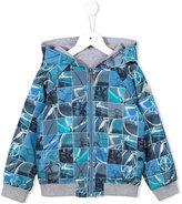Paul Smith reversible jacket - kids - Cotton/Spandex/Elastane/Polyester - 12 yrs