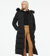 Andrew Marc TOTOWA SYNTHETIC DOWN LONG-LINE PUFFER COAT