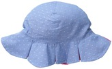 San Diego Hat Company Kids - CTK3462 Reversible Chambray Bucket w/ Chin Strap Bucket Caps