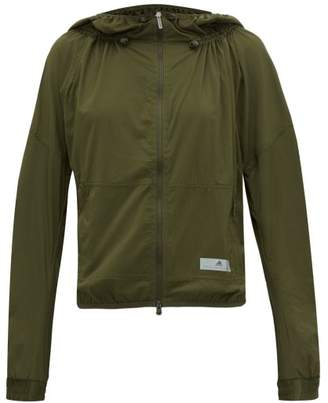 adidas by Stella McCartney Run Light Zip Through Jacket - Womens - Khaki