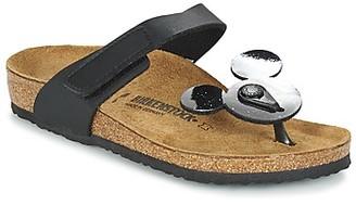 Birkenstock TOFINO MICKEY girls's Flip flops / Sandals in Black