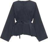 The Row Staram silk blouse