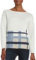 Lafayette 148 New York Patterned Sweater