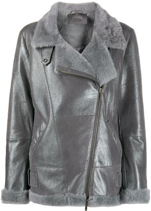 Lorena Antoniazzi Fur Trim Jacket