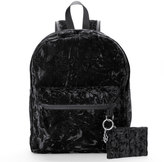 Candies Candie's® Nova Crushed Velvet Dome Backpack with Coin Purse