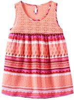 Mudd Girls 7-16 Crochet Lace Yoke Patterned Tank Top