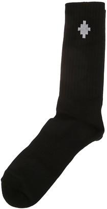 Marcelo Burlon County of Milan Cross Sideway Midnight Socks