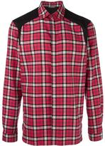 Neil Barrett checked shirt - men - Cotton - 41