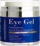 Pure Body Naturals Eye Cream for Dark Circles and Puffiness - 1.7 fl oz