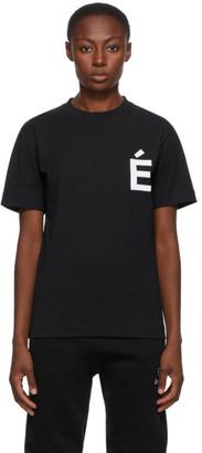 Études Black Wonder Patch T-Shirt