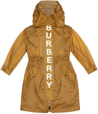 BURBERRY KIDS Logo coat