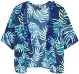 Catimini Printed kimono cardigan
