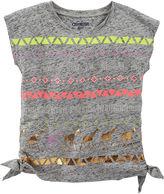 Osh Kosh Oshkosh Short-Sleeve Side-Tie Tee - Preschool Girls 4-6x