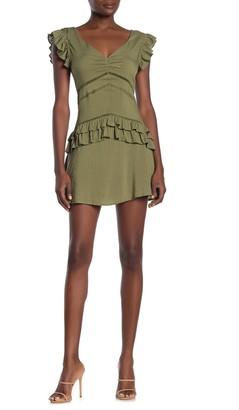 Fanco Ruffle Detail Mini Dress