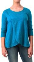 Neon Buddha Blackbird Cotton Flared Shirt - Long Sleeve (For Women)