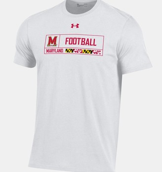 Under Armour Men's UA Performance Cotton Collegiate Sport T-Shirt