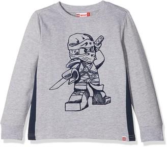 Lego Wear Legowear Boy's Lego Ninjago Sebastian 101-SWEATSHIRT Sweatshirt