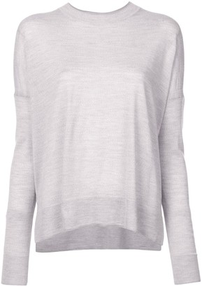 Derek Lam 10 Crosby Boxy Crew Neck Sweater