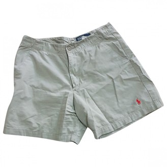 Polo Ralph Lauren Beige Cotton Shorts for Women