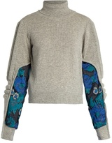 Preen by Thornton Bregazzi Samuel roll-neck contrast-panel sweater