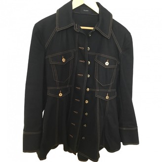 Ellery Black Denim - Jeans Jacket for Women
