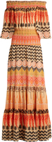 Temperley London Prophecy-print chiffon dress