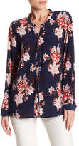 Joie Devitri Floral Silk Blouse