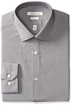 Perry Ellis Men's Slim-Fit Spread Collar Solid Dress Shirt