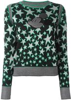 Marc Jacobs star jacquard appliqué jumper