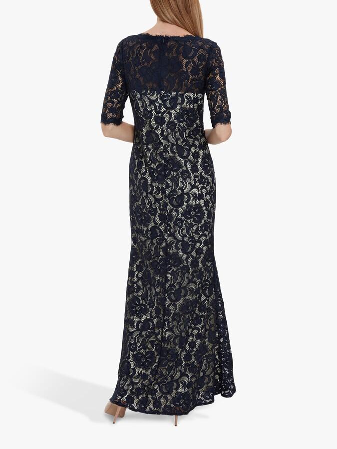 Thumbnail for your product : Gina Bacconi Selinda Lace Maxi Dress