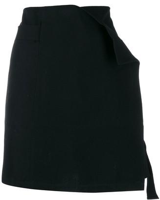 Ann Demeulemeester Asymmetric Mini Skirt