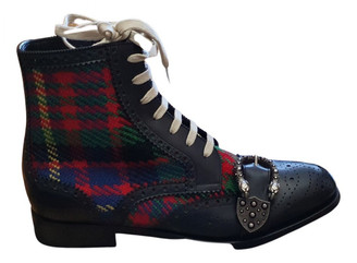 Gucci Queercore Multicolour Leather Boots