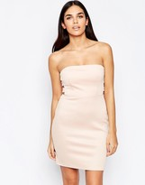 Oh My Love Side Tab Bodycon Dress
