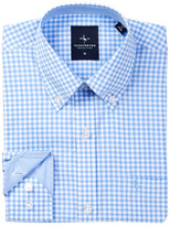 Tailorbyrd Blue Gingham Dress Shirt (Big Boys)