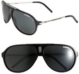 Carrera Men's Eyewear 'Hots' 64Mm Aviator Sunglasses - Black