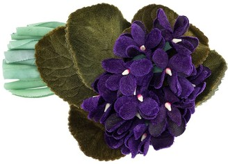 Chanel Pre Owned 1990s Floral Brooch