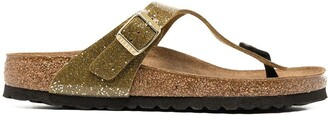 Birkenstock Gizeh glittery sandals