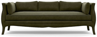 "Bunny Williams Home Southern Belle 82"" Sofa - Olive Velvet"